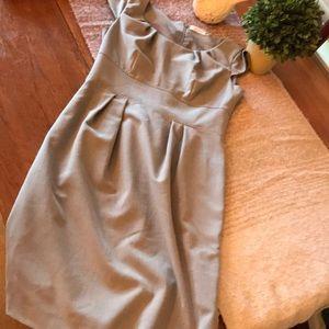 Like New Calvin Klein lined grey dress